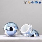 vaso crema cosmetico acrilico di plastica a forma di del contenitore della sfera rotonda di 5g 8g 15g 30g 50g