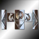 Abstrakte Abbildung Ölgemälde auf Segeltuch (KLMA5-0063)
