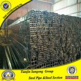 Tubulação de aço recozida preta laminada soldada ERW da mobília ao ar livre de aço