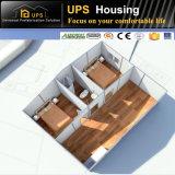 優秀な耐火性の鋼鉄構造プレハブの別荘の容易な荷を下す家