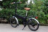 20-дюймовый мини складной велосипед с электроприводом/скрытый Ebike аккумуляторной батареи