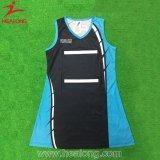 Healongの上の販売のスポーツ・ウェアの昇華印刷によってパッドを入れられるネットボールのスカート