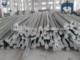 MERGULHO quente padrão chinês Pólo de aço Octagonal elétrico galvanizado
