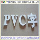 Panneau blanc et noir de mousse de PVC de la feuille 8mm de mousse de PVC Celuka pour la décoration extérieure