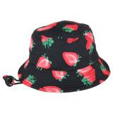 Kundenspezifische Erdbeere-Drucken-Zeichenkette-Wannen-Schutzkappe für Kinder