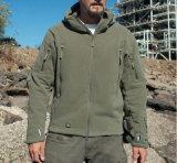 Atacado Shakeskin Soft Outdoor Warm Fleece Cold-Proof Water Proof Men's Jacket