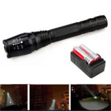 Super heller 12000lm Xml T6 LED Taschenlampen-Fackel Zoomable 5 Modus-helle Lampe