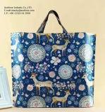 プラスチック柔らかいループ正方形の底ショッピング・バッグ