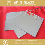 glace argentée ronde de miroir de Frameless de Module de douche de 6mm avec les bords coniques