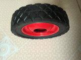Una rotella di gomma solida resistente da 6 pollici per la riga della barra di rotella