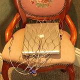 盗難防止袋か機密保護の網袋
