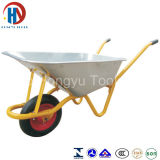 Wheelbarrows revestidos da bandeja do metal do zinco