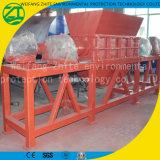 固形廃棄物のための二重シャフトのシュレッダー