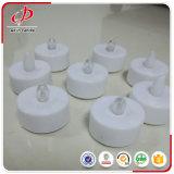 Mini Tealight LED tipo vela de Natal para decoração