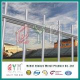 Cerca de alambre doble plana revestida del PVC/cercado de alambre doble