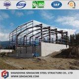 Pre проектированная стальная структура для подвижного пакгауза