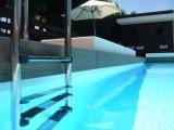 Decking esterno solido ed impermeabile di WPC