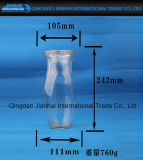 Großhandelsglasflaschen-trinkender Getränkebehälter