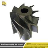 中国の掃除機の投資鋳造の真鍮のインペラーポンプ部品