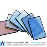 Folha/vidro isolados curvo para as janelas de vidro/Porta/parede Cortina
