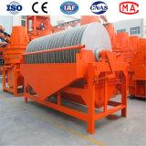 Ferro que mina o equipamento magnético permanente do separador