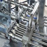 Controle da bomba de rotor Máquina de embalagem de selagem de quatro lados com gatos e máquina de embalagem de várias linhas
