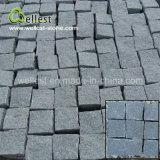 Melhor preço Natural Sides Black Granite Pathway Cobble