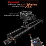 1 м x7 плюс пульт ДУ Greenbull ползунок камеры видео слайд-фотографических сдвиньте ползунок при съемке на пленку ползунок с камеры вспомогательное оборудование поставщика слайдов