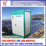 100kw 384V 480VDC all'invertitore di grande potere del sistema di energia solare di CA per il sistema solo del basamento