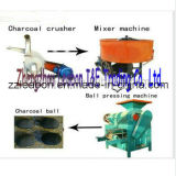 Dry Powderのための工場Directly Charcoal Briquette Making Machine