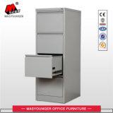 Gabinete de arquivo vertical do uso do escritório de 4 gavetas