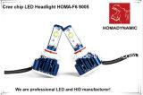 Горячая продажа кри чип 3600 лм светодиодные фары H1/H3/H4/H7/9005/9006 СВЕТОДИОДНЫЕ ФАРЫ