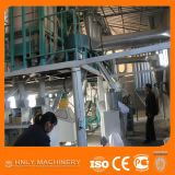 Máquina de trituração comercial do milho 100t/24h instalada em Kenya