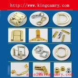 Perno in lega di zinco decorativo della maniglia dei perni del contenitore di legno di monili del metallo