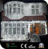 De Lichten van het Gordijn van het Koord van de Fee van Kerstmis voor de Decoratie van de Muur
