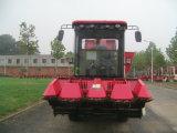 4개의 줄 큰 곡물 탱크를 가진 최신 옥수수 수확기