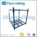 Lager-faltbare stapelnde Gummireifen-Stahlzahnstange