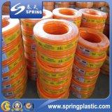 Boyau de jardin flexible renforcé tressé par PVC coloré