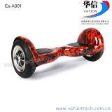 Auto equilibrio eléctrico de 2 ruedas moto, scooter eléctrico de 10 pulgadas vación Factory