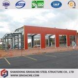 De Bouw van de Workshop van de Structuur van het Staal van het Frame van het Metaal van Sinoacme