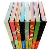 Custom Hard Hard Cover Book Set Printing, Hardcover Set Book Printing