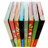 인쇄하는 주문을 받아서 만들어진 단단한 덮개 책 세트, 두꺼운 표지의 책 고정되는 책 인쇄