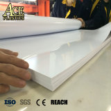 High Glossy Percelain White rigid PVC Sheet for Lampshade