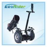 電気ゴルフカート4000Wを立てる電気スクーターEcoriderのバランスをとる2車輪