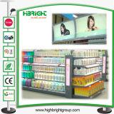 Banco di mostra di promozione della memoria della farmacia