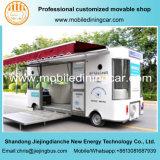 Camion commercial d'exposition avec le certificat national de brevet et de CE à vendre