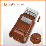 Détenteur de carte de téléphone cellulaire Étui pour iPhone 5