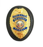 Diseño modificado para requisitos particulares promocional y divisa validada insignias de la policía, divisa de la alta calidad 2017 del metal