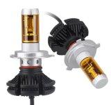 X3 H1 H3 H4 H7 H8 H11 9005 9006 bulbos 50W 6000lm dos faróis do diodo emissor de luz do carro H13 lasca tudo em um farol 3000K 6500K 8000K do diodo emissor de luz de Csp