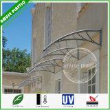 Pabellón sólido fácil elegante del toldo del balcón del policarbonato de la cortina que ensambla DIY